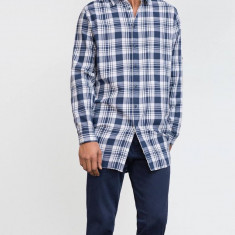Camasa barbati Zara, Marime: M, Culoare: Albastru