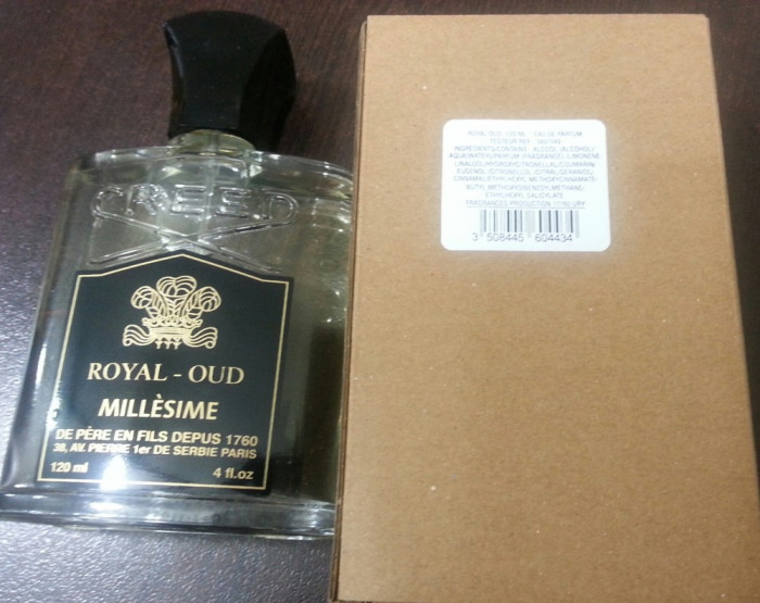Royal Oud 120ml EDP TESTER