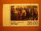 *Serie -Pictura -Masacrul de la Babi Yar 1983 -Israel , 1val.stamp., Stampilat