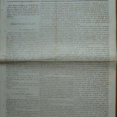 Ziarul Steoa Dunarei, Zimbrulu si Vulturulu ; Steaua Dunarii, nr. 26, 1860