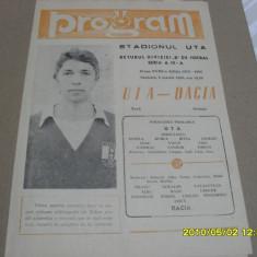 Program   UTA  -   Dacia  Orastie