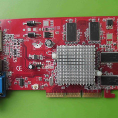 Placa Video Palit Ati 9250 128MB VGA DVI TV-out AGP - ARTEFACTE - Placa video PC