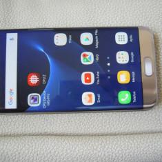 Samsung S7 Edge gold, full, liber retea - Telefon Samsung, Auriu, 32GB, Neblocat, Single SIM