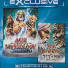 AGE oF Mythology Incl. Titans Addon (GOLD)PC - Jocuri PC Microsoft Game Studios, Strategie, 3+