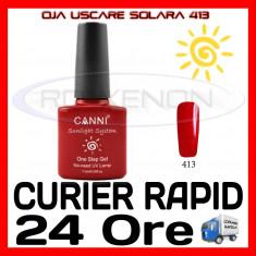 OJA USCARE SOLARA (SEMIPERMANENTA) SAU UV #413 CANNI - MANICHIURA UV, Piersica