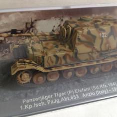 Macheta tanc Tiger Elefant - Anzio - 1944 scara 1:72 - Macheta auto