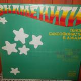 -Y-  FAMOUS JAZZ TENOR - SAXOPHONE PLAYERS  DISC VINIL LP