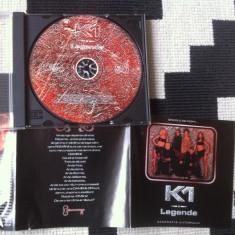 K1 legenda album cd disc muzica pop electro house romania 1999