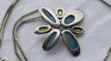 Medalion argint Elegant Delicat Finut de Efect Superb vintage