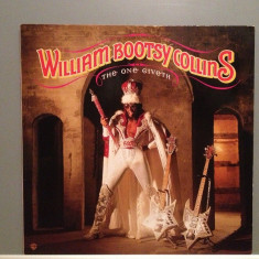W.BOOTSY COLLINS - THE ONE GIVETH (1982/WARNER/RFG) - Vinil/Funk/Impecabil (NM) - Muzica R&B