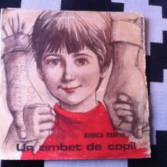 Rodica Padina un zambet de copil dublu disc vinyl 2 lp poveste pentru copii - Muzica soundtrack electrecord, VINIL