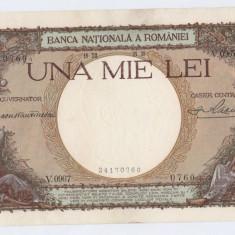 * Bancnota 1000 lei 1938 - 141 - Bancnota romaneasca