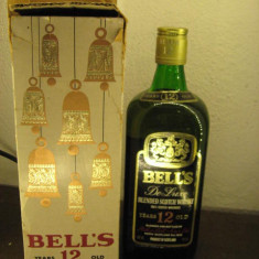 Whisky BELL'S, de luxe blended scotch whisky cl.75 gr.40 ani 60