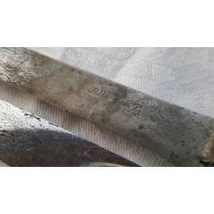 Cutite vechi de colectie cu elemente din argint Doua Bucati