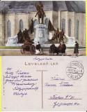 Cluj- Statuia Matei Corvin - militara, WK1, WWI, Circulata, Printata