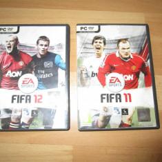 Jocuri PC Electronic Arts Fifa 2011 si 2012 DVDuri originale, poze reale, Simulatoare, 3+, Multiplayer