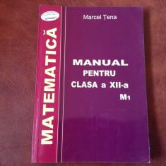 Manual scolar - Matematica clasa XII / M1 - anul 2003 / 288 pagini !, Clasa 4, Romana