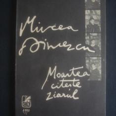 MIRCEA DINESCU - MOARTEA CITESTE ZIARUL - Carte poezie