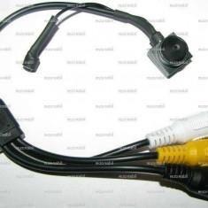Mini camera de supraveghere Extrem de mica 14mm Sunet 600 linii
