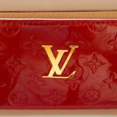 Portofel Louis Vuitton pentru dama. - Portofel Dama Louis Vuitton, Culoare: Rosu, Cu fermoar