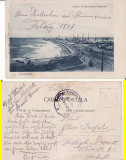 Constanta-Portul -  militara, WWI, WK1, rara, Circulata, Printata