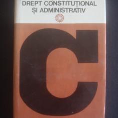 DICTIONAR DE DREPT CONSTITUTIONAL SI ADMINISTRATIV - Carte Drept constitutional