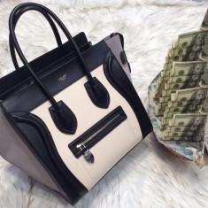 Genti Celine Luggage Big Size Collection 2017 - Geanta Dama Celine, Culoare: Din imagine, Marime: Masura unica, Geanta de umar, Piele