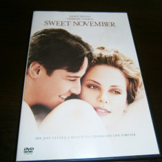 Sweet November, DVD film de dragoste, 2001, Keanu Reeves! - Film romantice warner bros. pictures, Romana
