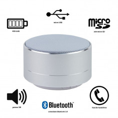 Boxa portabila, 3W, bluetooth 3.0, radio FM, microSD, microfon, Forever PBS-100