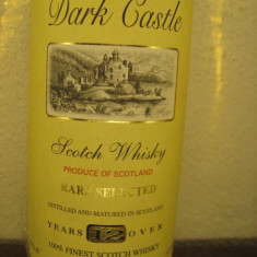 Whisky dark castle, 12 ani, scotch whisky, RARE SELECTD cl.70 gr. 40