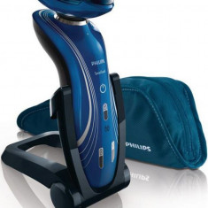 Aparat de barbierit Philips RQ1155/16, 3 capete (Albastru) - Aparat de Ras Philips, Numar dispozitive taiere: 3