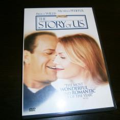 Povestea noastra, DVD cu film dragoste 1999, Willis & Pfeiffer! - Film romantice warner bros. pictures, Romana