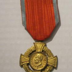 Romania - Medalia, Crucea Virtute / Virtutea Militara cls 1, model 1 - Ordin/ Decoratie, Romania pana la 1900