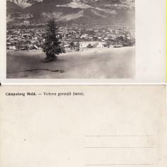 Campulung Moldovenesc ( Bucovina, Suceava )-Iarna - Carte Postala Bucovina 1904-1918, Necirculata, Printata