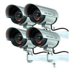 Kit 4 Camere false de supraveghere design realist Camera falsa