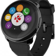 """Smartwatch MyKronoz ZeRound, Ecran Touchscreen TFT 1.22"""", Bluetooth (Negru)"""