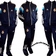 Trening Adidas Real Madrid pentru copii., Marime: 36, 38, Culoare: Bleumarin, Baieti