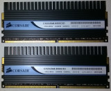 Corsair Dominator 4GB DDr2 1066 PC2-8500 2*2GB DDR2 Gaming TWIN2X2048-8500C5D, DDR 2, 4 GB, Dual channel