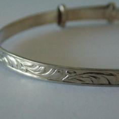 Bratara argint vintage -34