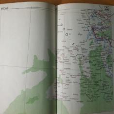 Bazias harta color anii 1930