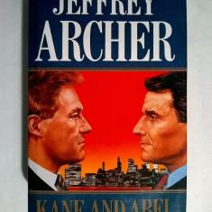 Jeffrey Archer - Kane and Abel - Carte in engleza