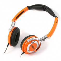 CASCA OMEGA CU MICROFON FH022 ORANGE - Casca PC