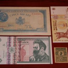 LOT BANCNOTE ROMANESTI - Bancnota romaneasca