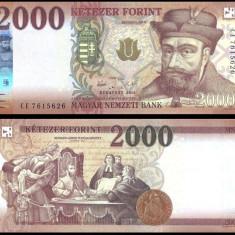 UNGARIA BANCNOTA 2000 FORINT 2016 2017 EDITIE NOUA NECIRCULATA - bancnota europa