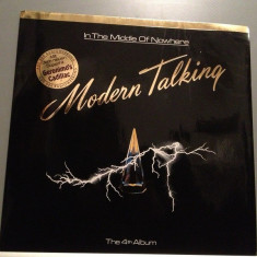 MODERN TALKING - IN THE MIDDLE OF..(1986/HANSA/RFG) - Vinil/Vinyl/Impecabil (NM) - Muzica Dance ariola