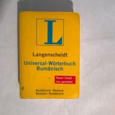 Langenscheidt Universal-Worterbuch Rumanisch