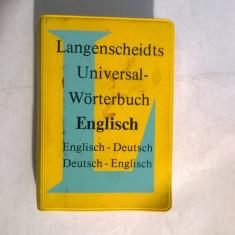 Langenscheidts Universal-Worterbuch Englisch