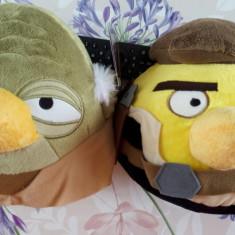 Set 2 Plusuri 20 cm Angry Birds Star Wars