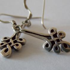 Cercei de argint vintage - Cercei argint