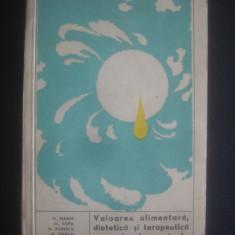 VALOAREA ALIMENTARA, DIETETICA SI TERAPEUTICA A PRODUSELOR APICOLE - Carte Alimentatie